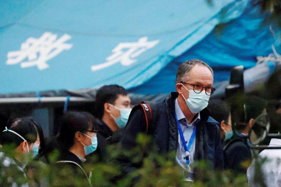 Peter Ben Embarek, experto de la OMS que lideró la misión en Wuhan