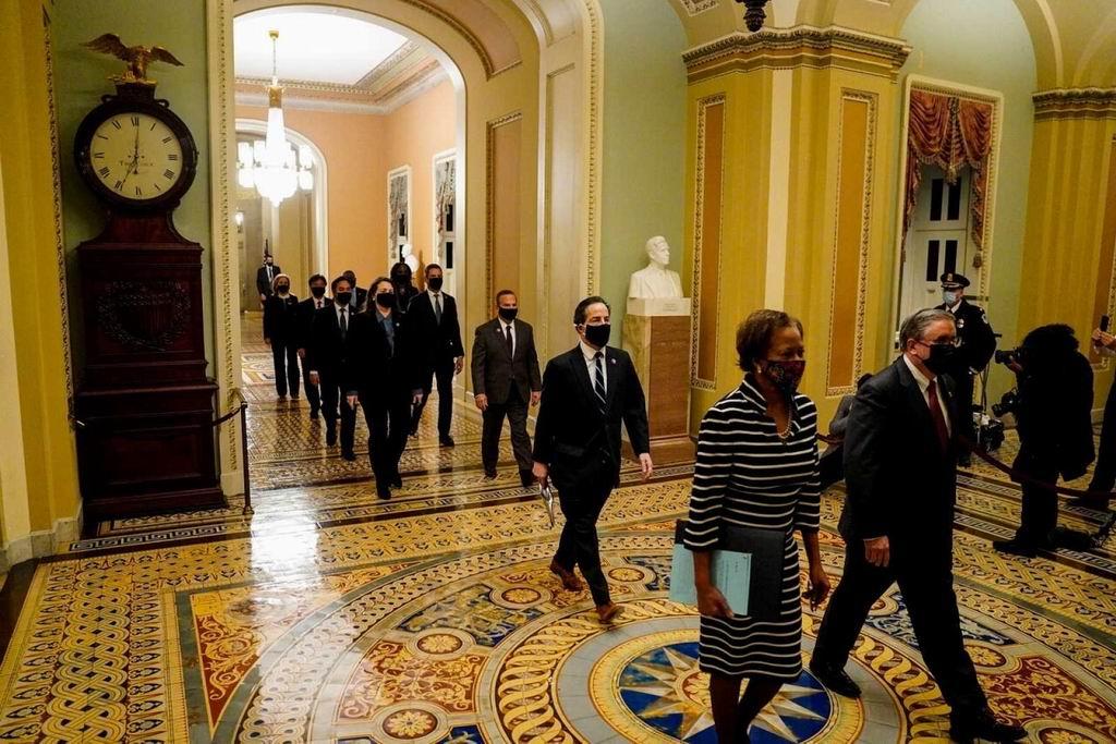 El impeachment contra Donald Trump llega al Senado