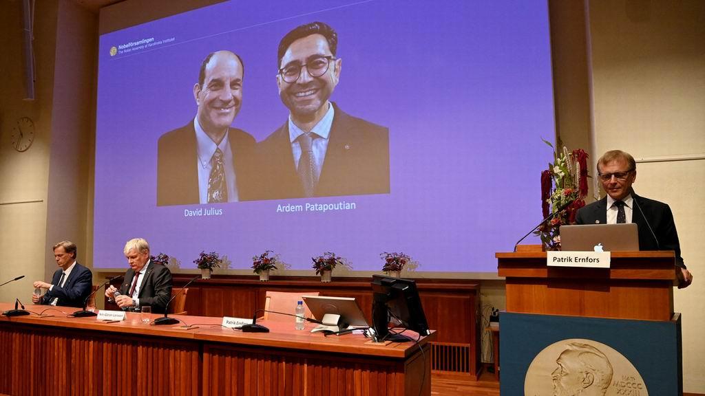 Premio Nobel de Medicina 2021 para David Julius y Ardem Patapoutian