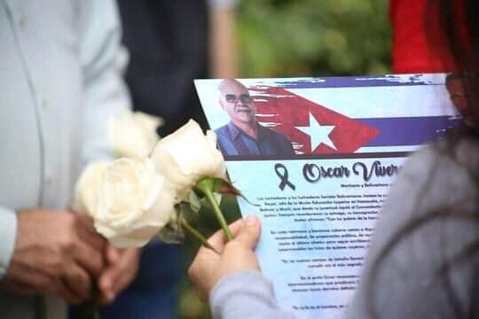 Presidente venezolano envía flores a educador cubano fallecido en ese país