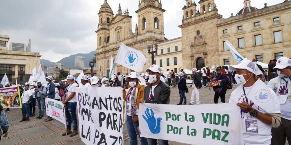 Asesinan a otro firmante de los acuerdos de paz en Colombia