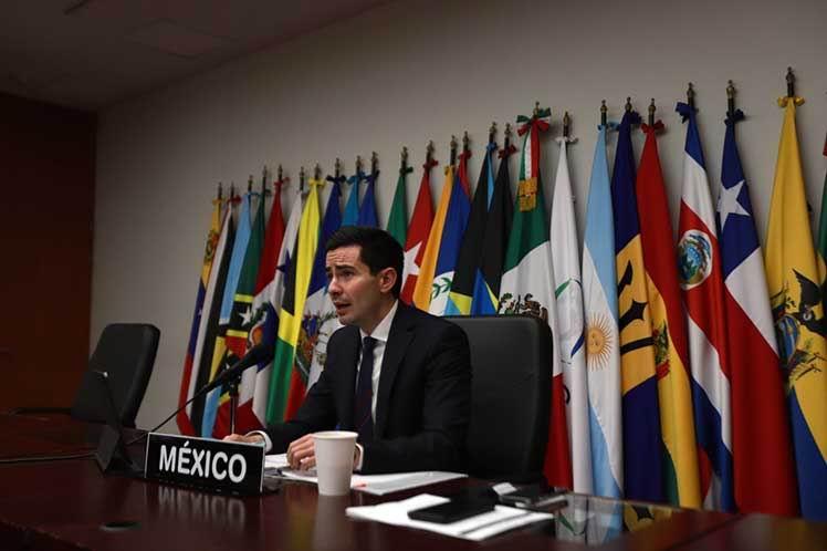 Director general de Organismos y Mecanismos Regionales Americanos de la Secretaría de Relaciones Exteriores, Efraín Guadarrama Pérez