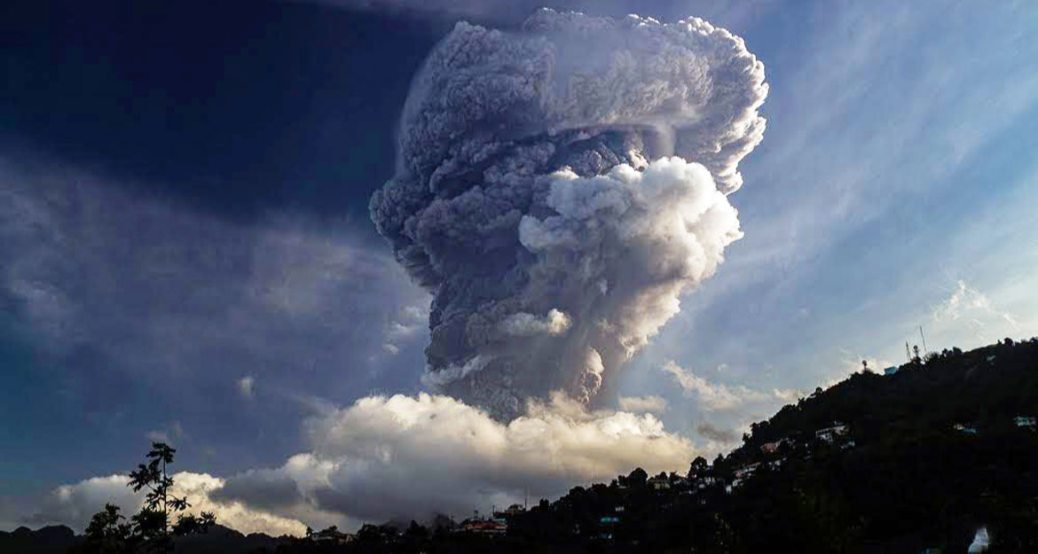 """St. Vincent faces """"monumental challenge of humanitarian relief"""" from volcanic eruption"""