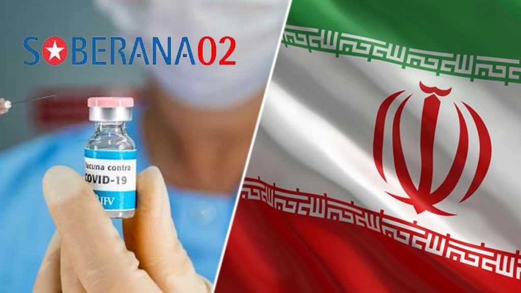 Envía Cuba 100 mil dosis de Soberana 02 a Irán