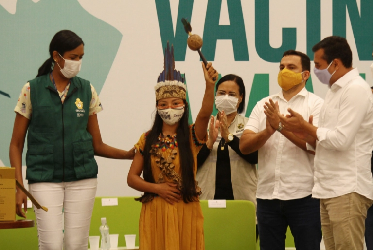 COVID vaccinations begin in Brazil hard-hit Amazonas state