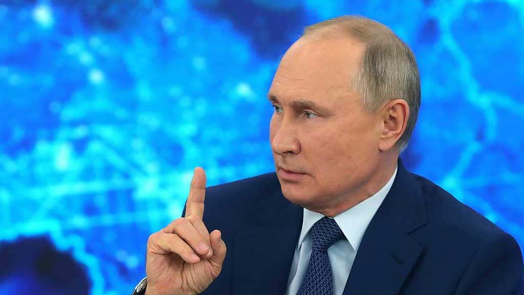 Advierte Putin a potencias occidentales por actos hostiles contra Rusia