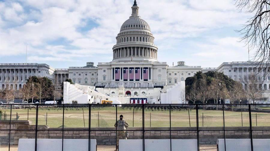 Prevalece tensa calma en EE.UU. en vísperas de ceremonia de asunción de Joe Biden