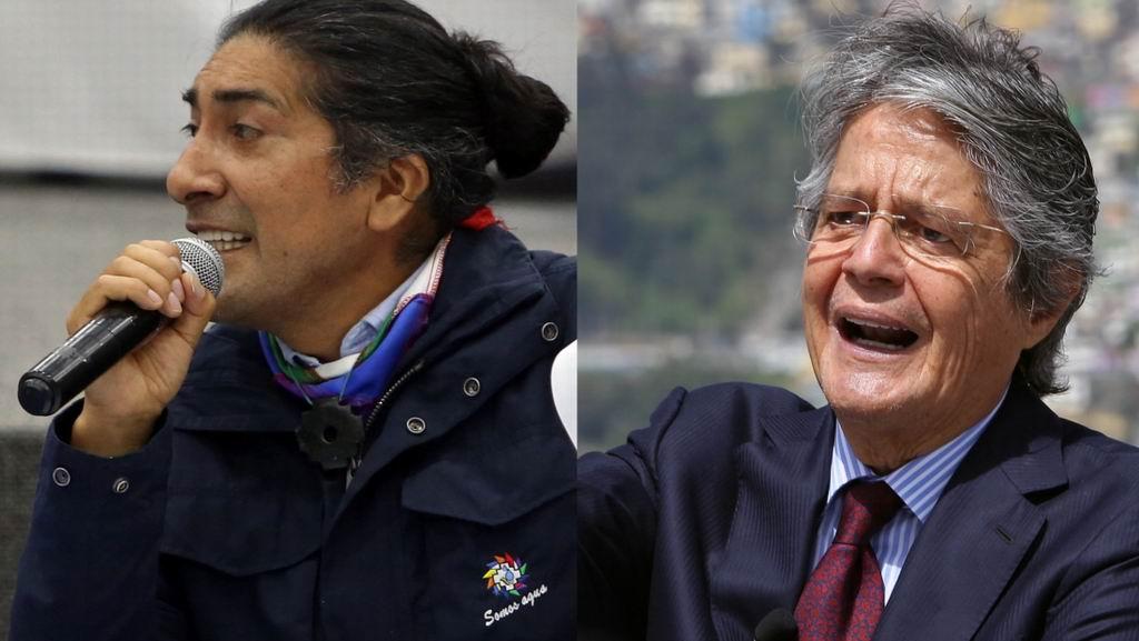 Entrega el derechista Guillermo Lasso carta al CNE en Ecuador