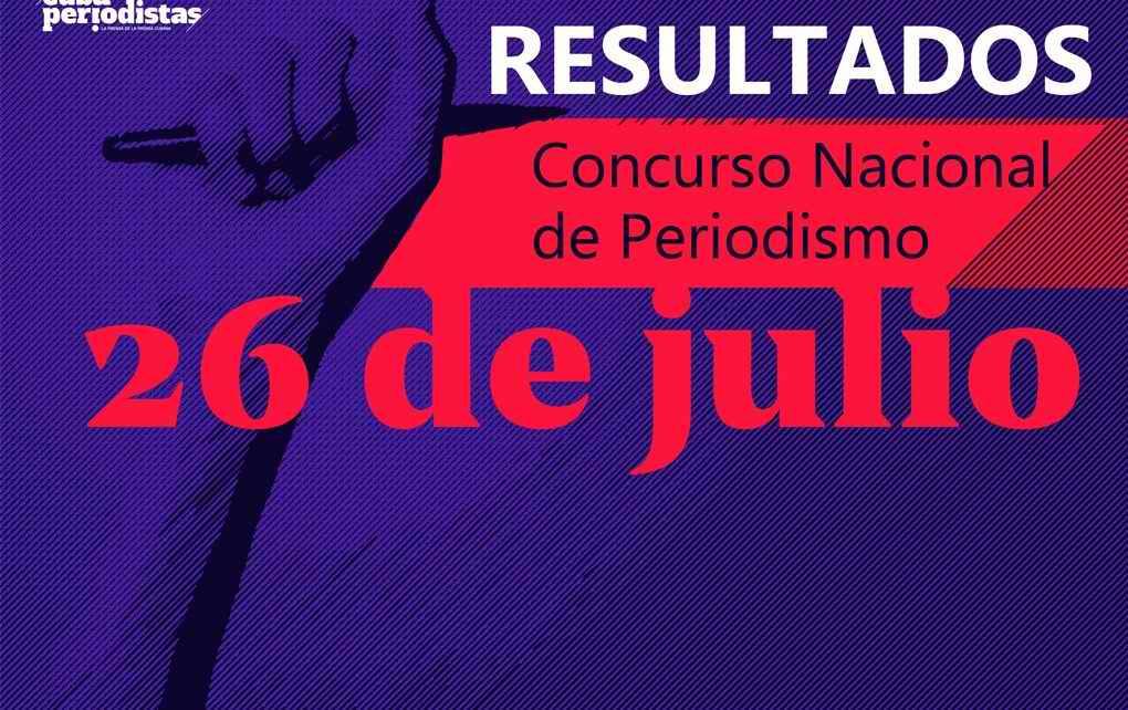 Jurado del Concurso 26 de Julio informa los resultados del certamen