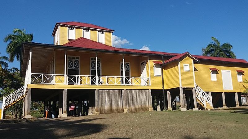 Casa natal de Fidel Castro en Birán. Foto: Mabel Peña