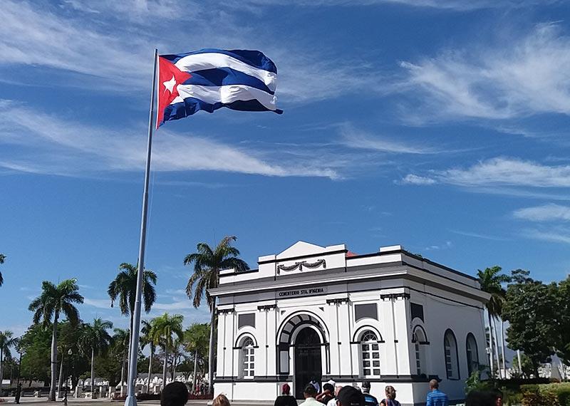 Homenaje a Carlos Manuel de Céspedes en Santiago de Cuba en el Día de los Padres