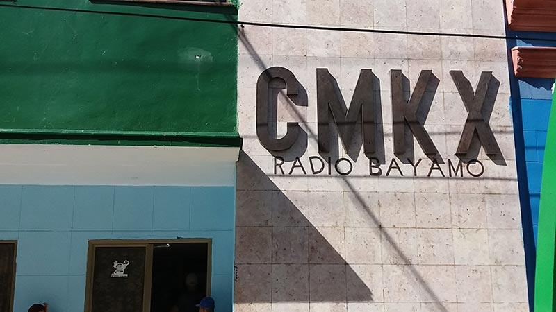 Emisora CMKX Bayamo. Foto: Mabel Peña