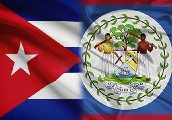 Diaz-Canel meets with Prime Minister of Belize