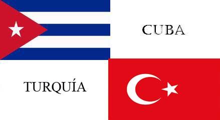Interesadas Cuba y Turquía en incrementar comercio bilateral