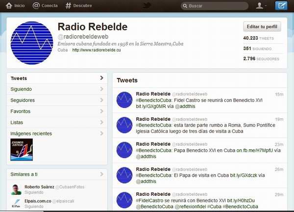 Amplia repercusión en Redes Sociales de la Misa del Papa en La Habana