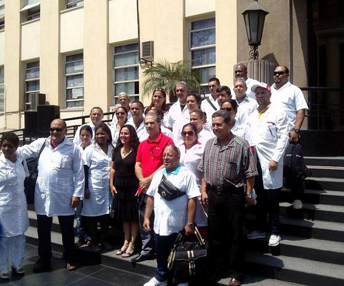 Inicia brigada médica cubana actividad en ciudad peruana