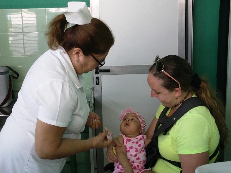 Desarrollan Campaña Nacional de Vacunación Antipolio (+Audio y Fotos)
