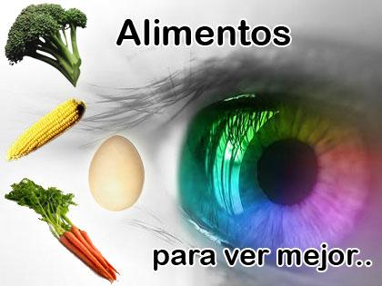 Alimentos que favorecen la salud ocular