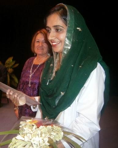 Los pakistaníes se llevan en el corazón a la universidad cienfueguera. Foto: Mireya Ojeda