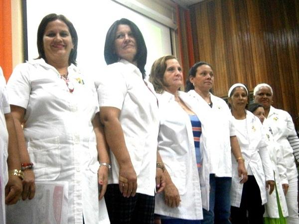Trabajadores sociales del Ministerio de Salud Pública celebraron  su día