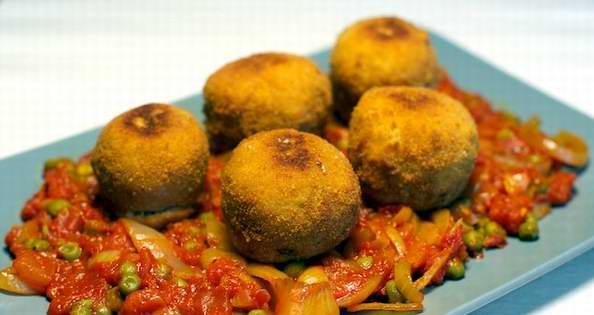 La receta de hoy:  �Alb�ndigas de harina!