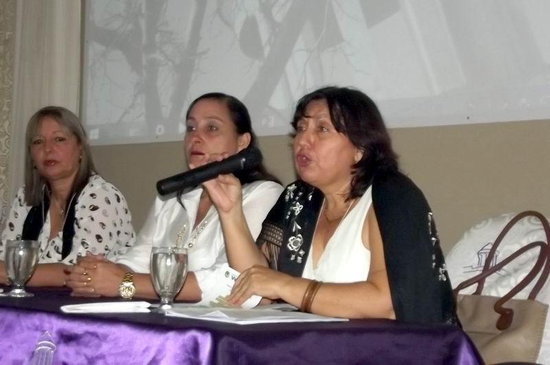 Delegada provincial del CITMA, Dra. Andrea Armas enfatiza en la necesidad de la integración.