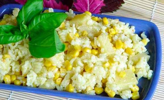 La receta de hoy arroz amarillo con ma z tierno for Como cocinar mazorcas de maiz