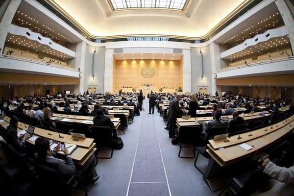 Asamblea Mundial de la Salud en Ginebra
