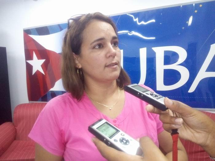 Ailyn Febles Estrada, presidenta de la Unión de Informáticos de Cuba. Foto: Carlos Serpa