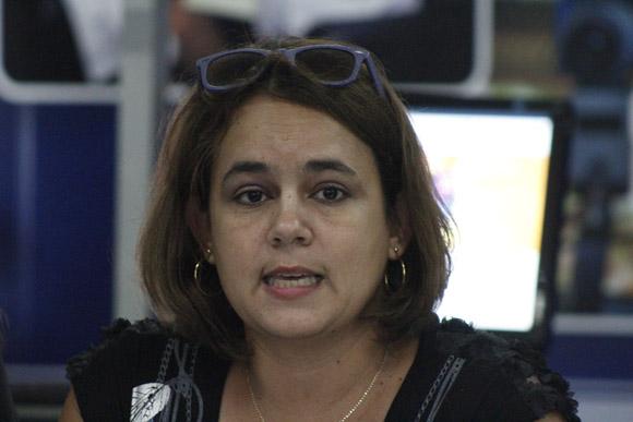 Ailyn Febles Estrada, vicerrectora de la Universidad de Ciencias Informáticas. Foto: José Raúl