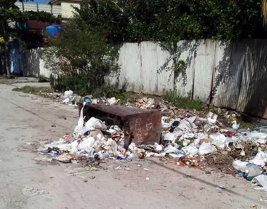 Imágen de la comunidad antes de la iniciativa de Nelson Cortina Rizo. Foto: Alhija Villalón