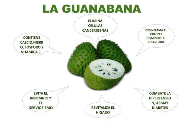 Guanábana para el verano
