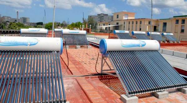 Solar water heaters sales extended to all the population in Havana