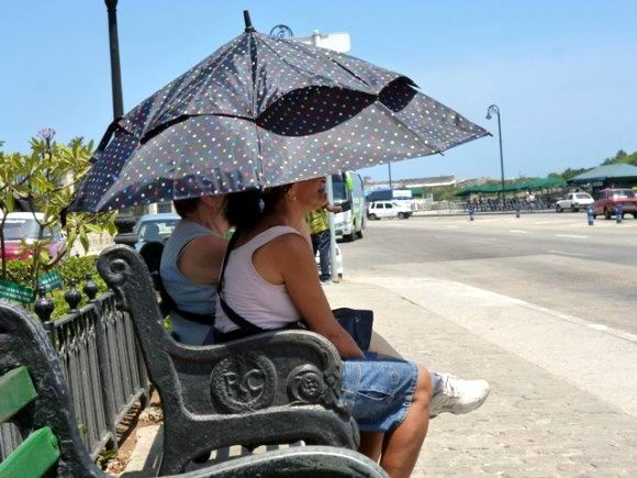 El tiempo en Cuba para el 5 de abril de 2018