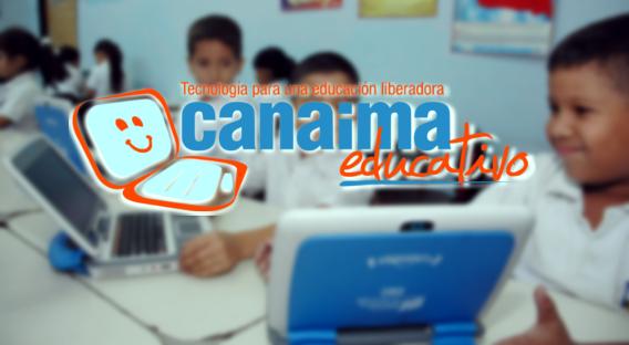 El proyecto Canaima Educativo tiene por objetivo apoyar la formación integral de los niños mediante la dotación de una computadora portátil escolar