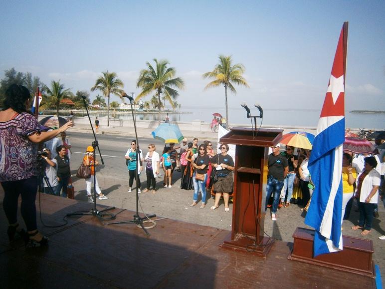 Celebran en Cienfuegos acto nacional por el Día Mundial sin Fumar