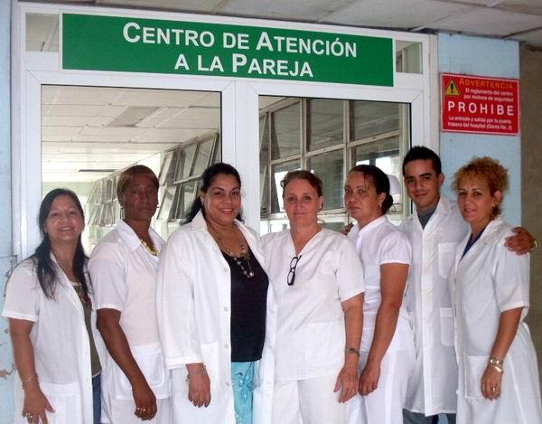 Centro de Reproducción Asistida, del Hospital Doctor Gustavo Aldereguía Lima. Foto: Mireya Ojeda
