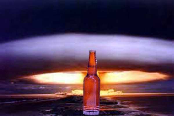 La cerveza es resistente a las radiaciones nucleares