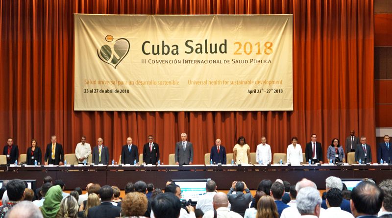 President Miguel Diaz-Canel Inaugurates Cuba Health 2018