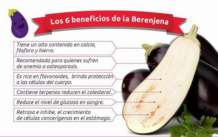 Beneficios de la berengena