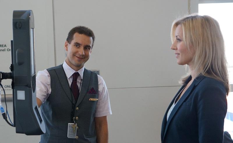Mira a la cámara, la primera terminal aeroportuaria biométrica
