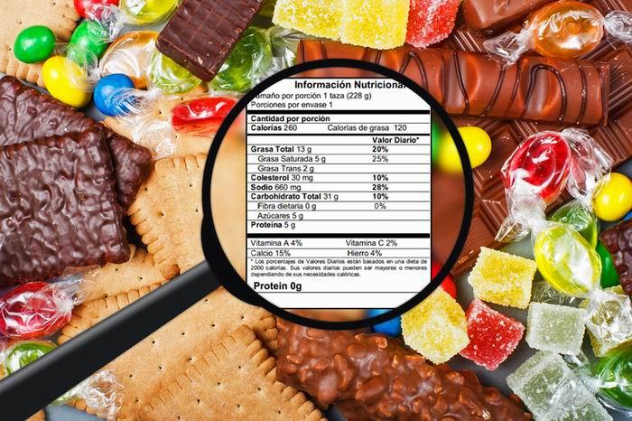 Etiquetas. Los peligros que ocasiona la sal