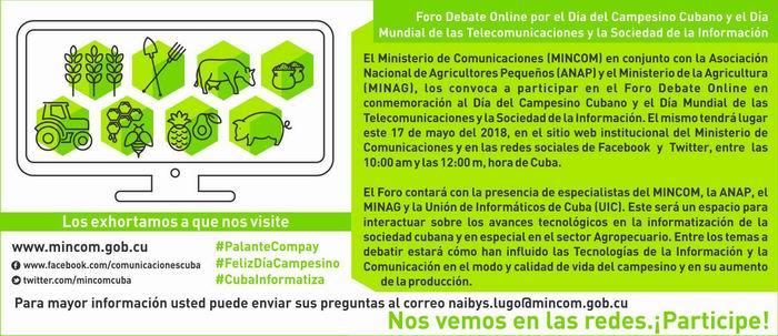 Festejará Cuba el Día Mundial de las Telecomunicaciones