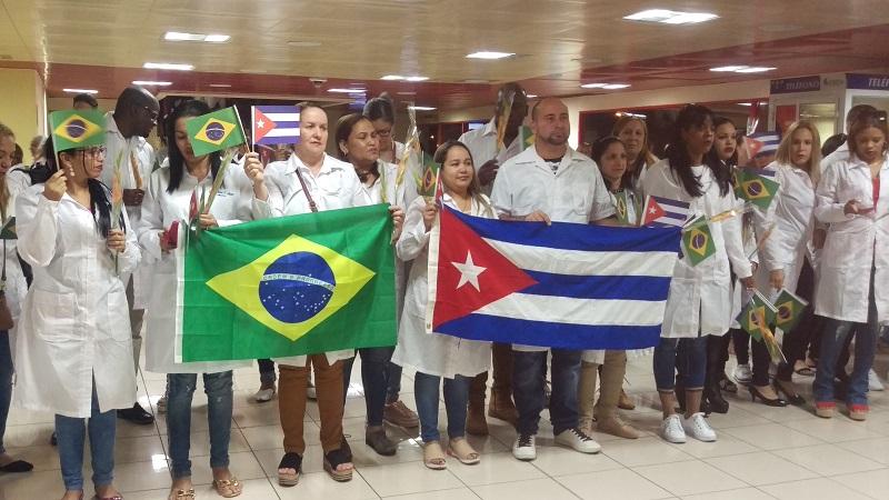 En Cuba, pero con Brasil en el corazón