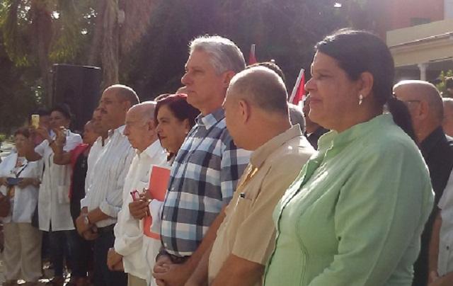 Inaugura Miguel Díaz-Canel nueva sede del Instituto de Hematología