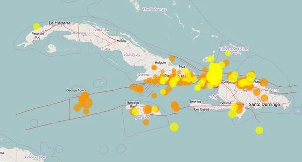 Nuevo sismo perceptible en toda la parte del este oriental de Cuba