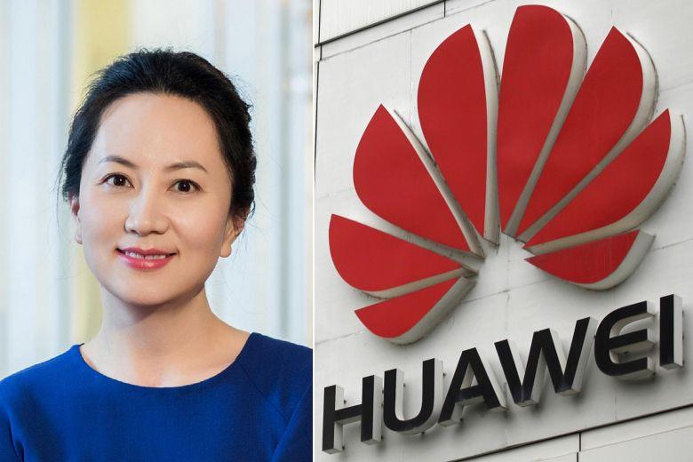Directora financiera de la compañía Huawei, Meng Wanzhou