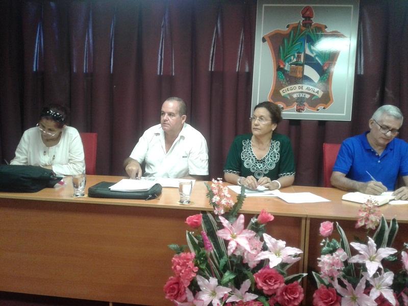 Evalúa Ministra del CITMA implementación de la Tarea Vida