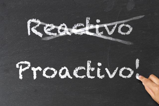 Actitud proactiva=estilo de vida.