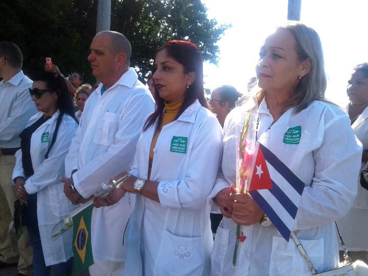 La Doctora Melisa dejó en Brasil a un pueblo triste